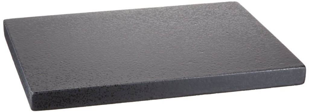 Brotbackstein aus glasiertem Cordierit