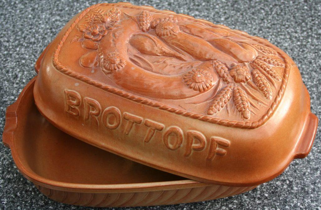 Brottopf (Innenraum glasiert)